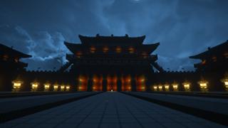 高能预警 《我的世界》大明宫建筑展示