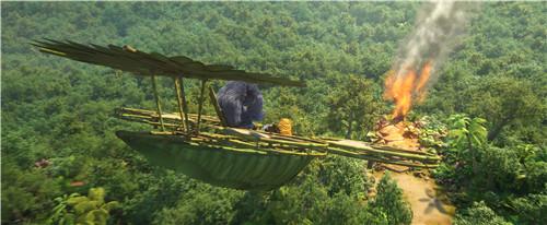 4丛林小神兵的高科技飞机翱翔蓝天