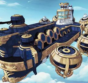 全新玩法天空堡垒揭秘 冒险联盟五大航母启动
