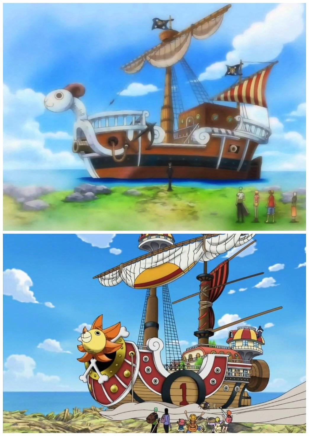 """揭秘当海贼王的首要条件,得拥有一艘像样的""""船"""""""
