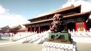 高度还原北京故宫建筑图 打破了吉尼斯世界记录