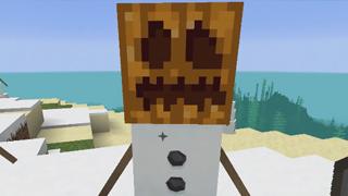 雪人摘掉南瓜头原来长这样 你猜不到的雪人造型