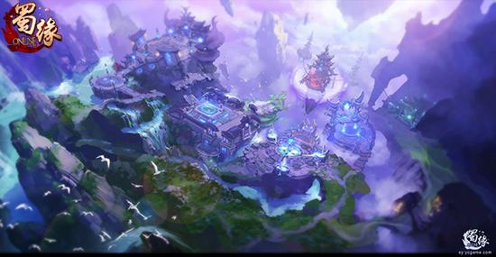 国风仙侠《蜀缘》二测版本 新鲜趣味玩法内容曝光