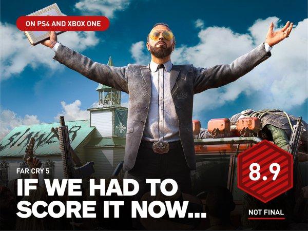 《孤岛惊魂5》IGN临时评分8.9 画面精美但惊喜不足