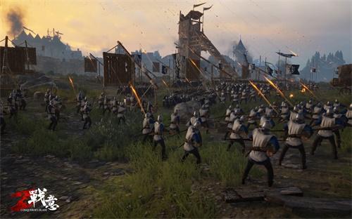 狼烟烽火 《战意》展现古战场火攻利器的独特魅力