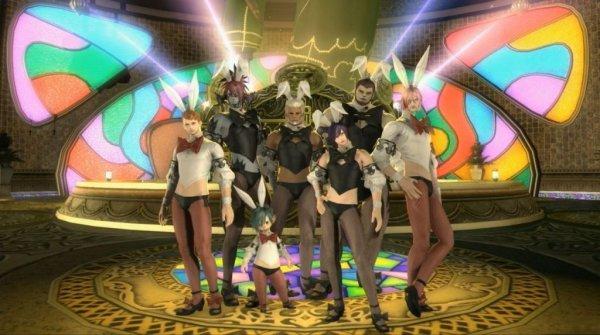 《最终幻想14》将推男版兔女郎外观