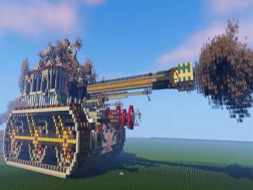 花30天制作真实大型坦克 大神这波操作太牛了!