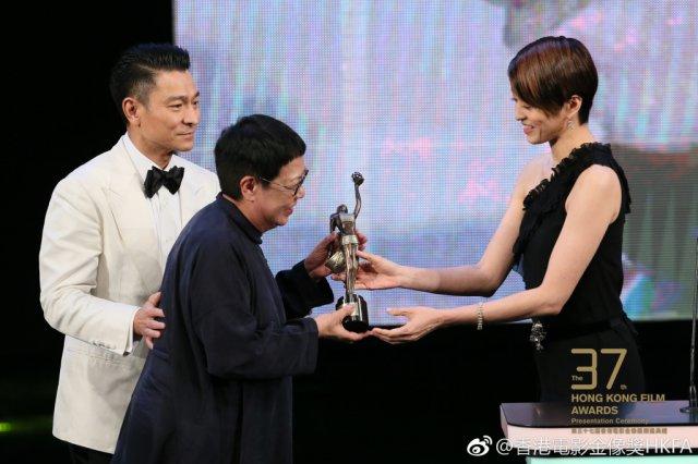 第37届香港电影金像奖落幕 古天乐成为影帝