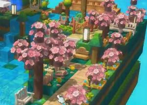 """冒险岛2 """"桃源""""主题房屋建设 遍地桃花落英缤纷"""