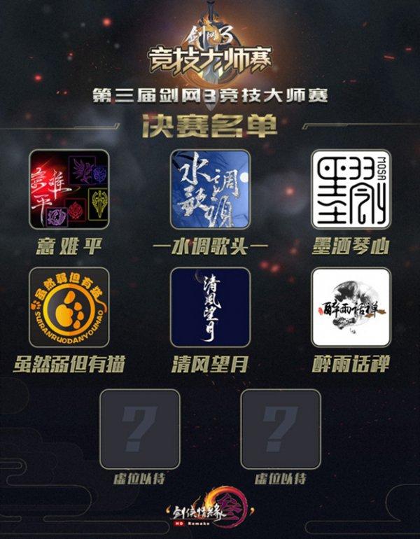 周边售价公开 《剑网3》大师赛总决赛门票明日发售