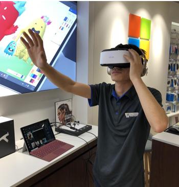 大朋VR进驻微软全国授权体验店,E3巨幕影院适配Surface