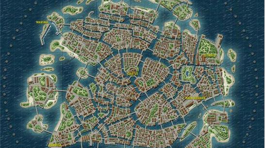 玩家自制绝地求生全新地图:威尼斯水城