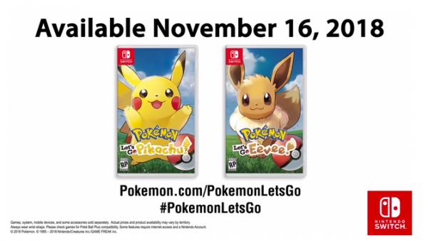 不用做宝可梦了 《精灵宝可梦》将于今年11月16日发售