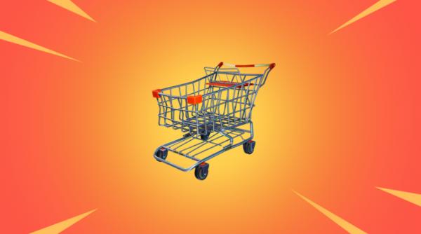 《堡垒之夜》V4.3更新公告 超市推车来了冲啊!!