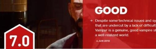 《吸血鬼》媒体评测 剧情/场景优秀但也有缺陷