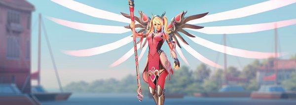 《守望先锋》粉红天使卖出千万美元 作为善款全数捐献