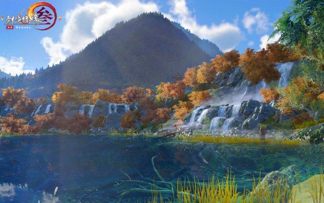 《剑网3》九寨沟地图16日上线 真实还原风景名胜