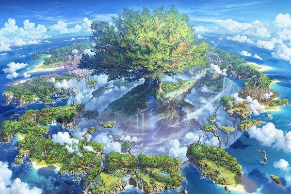 《世界树迷宫10》发布巨型海报 全部468位角色汇聚一堂