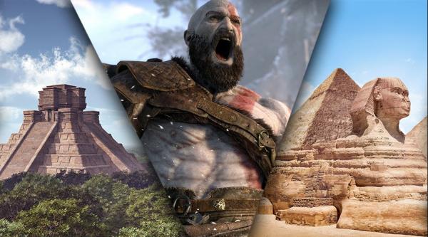 《战神4》埃及设定图曝光 原设定奎爷大战阿努比斯