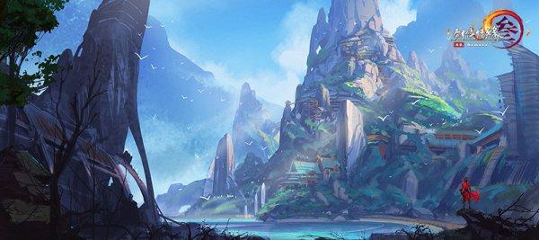 《剑网3》100级新资料片世外蓬莱发布 CG预告片首爆