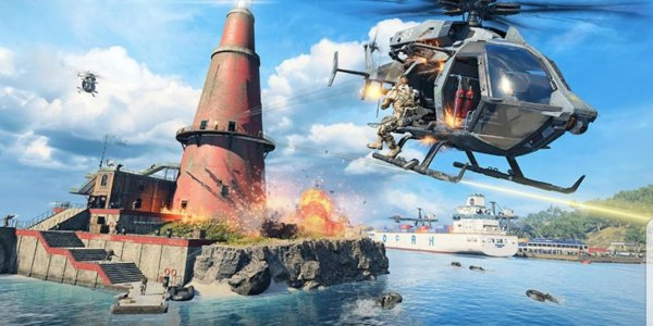 《使命召唤15》吃鸡模式预告片发布 海陆空三栖作战