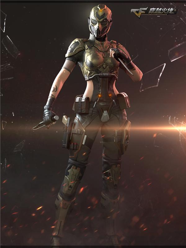 CF新版本即将到来 幽灵模式新地图角色曝光