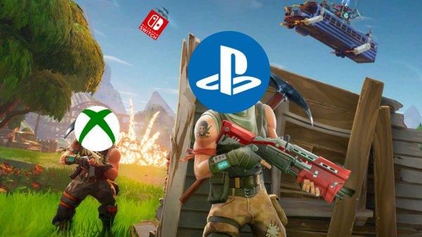 索尼想通了!PS4《堡垒之夜》支持跨平台联机
