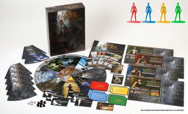 《古墓丽影》明年初将推出桌游 支持3-4人游玩