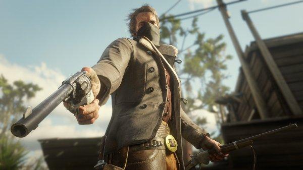 《荒野大镖客2》新情报:武器自定义 枪套有大作用