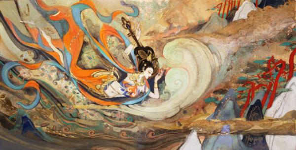《王者荣耀》出的敦煌系列海报 你看懂了吗?