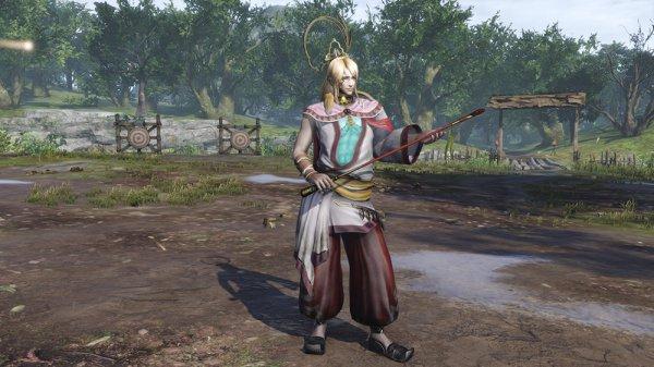 《无双大蛇3》第四弹服装DLC 大乔化身诱人的小狐狸