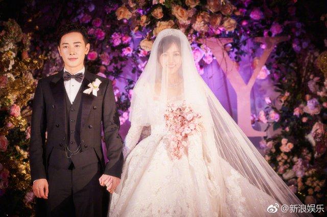 唐嫣罗晋婚礼现场照片曝光 细节之处彰显爱情永恒
