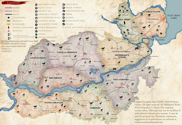 地图大小意义何在 从《荒野大镖客2》谈开放世界