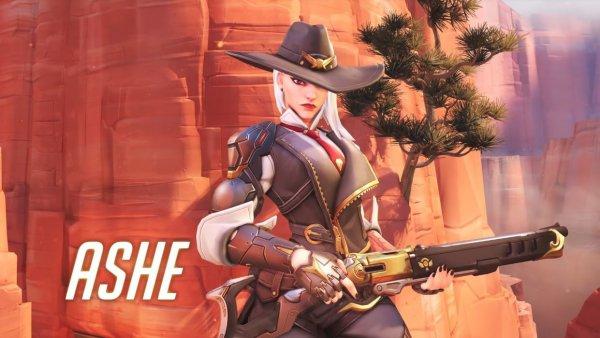 《守望先锋》新英雄艾什上线 精于算计的霸气御姐