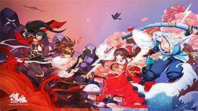 和风武者3D动作手游《侍魂:胧月传说》12月初上线