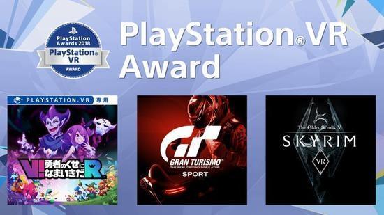 PS Awards 2018获奖结果出炉 《上古卷轴5 VR》等三款VR作品获奖
