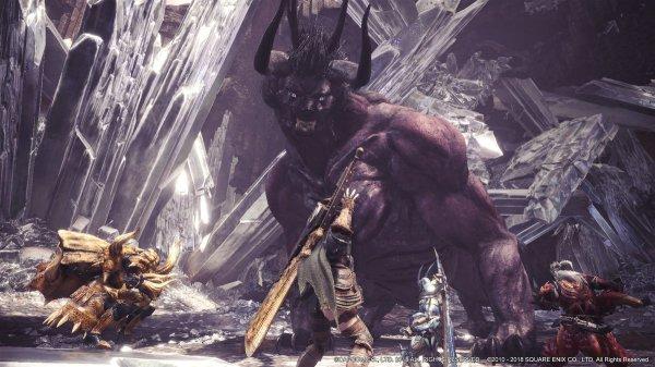 FF14联动终降临 《怪物猎人:世界》迎贝希摩斯