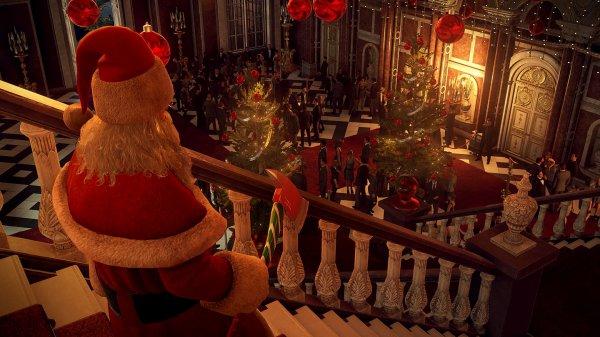 《杀手2》圣诞节免费活动 47化身死神圣诞老人