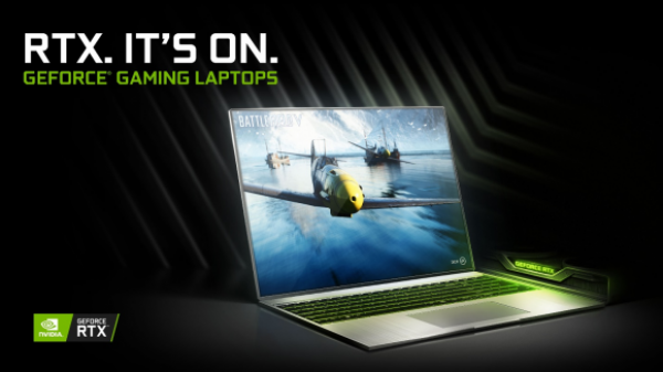 NVIDIA GeForce RTX助力全新游戏笔记本电脑机型创新高