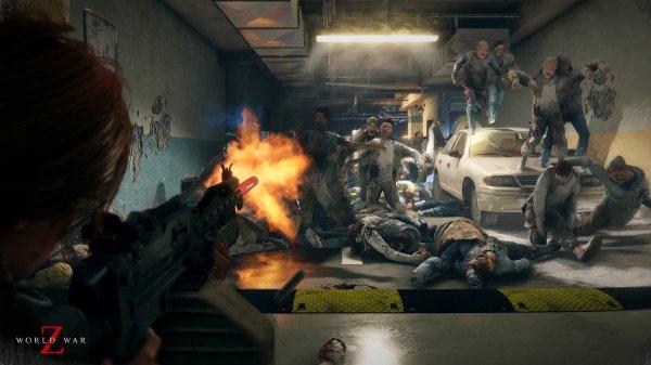《僵尸世界大战》新预告公布 4月16日登陆PC/PS4/XB1