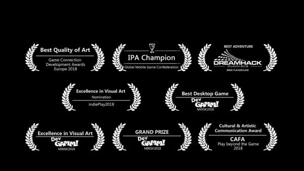 《彩虹坠入》游戏原声登录Steam 领略国际级音乐魅力