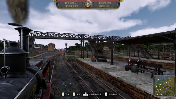 《铁路帝国》新年首个DLC公布 体验德国本土风貌