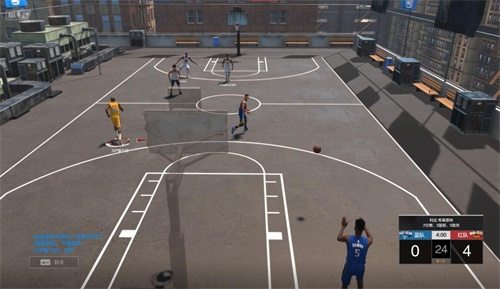 《NBA2K Online2》3月7日更新 街头全场3V3火热开启