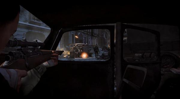 《狙击精英V2》重制版预告片公布 2019年正式发售