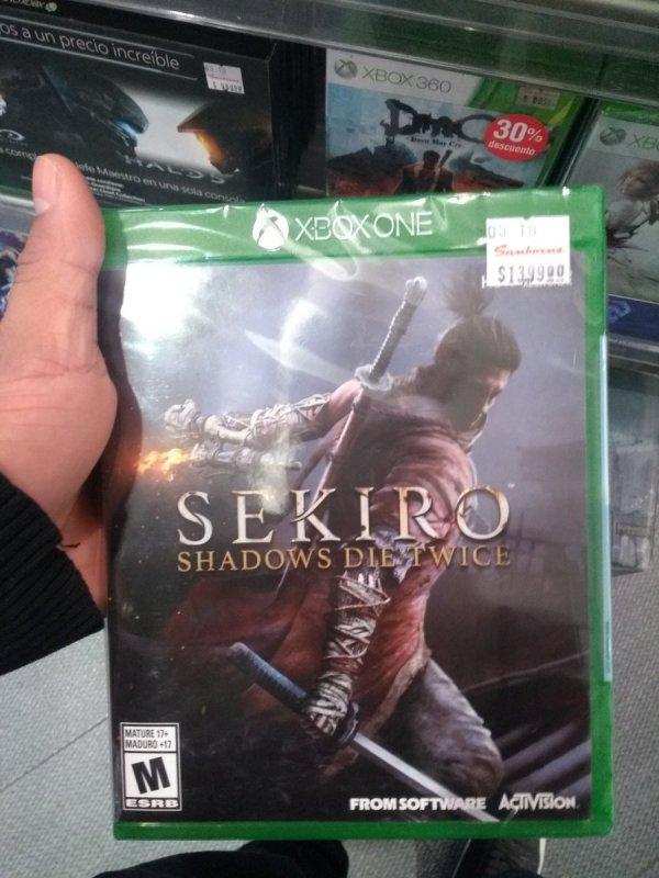 《只狼:影逝二度》遭偷跑 墨西哥惊现Xbox实体版