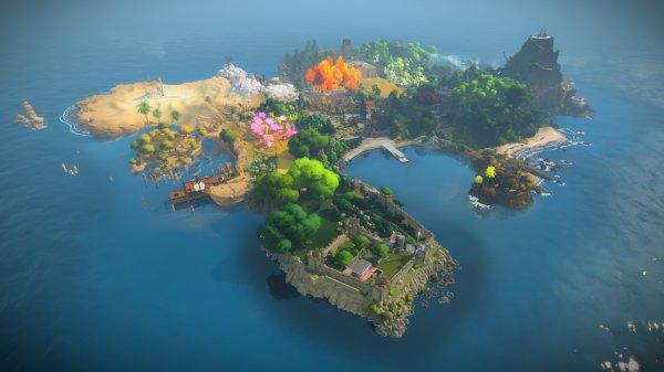 Epic喜加一 高分冒险解谜游戏《见证者》免费领