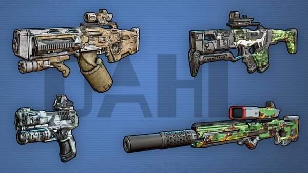 《无主之地3》全武器介绍 玩法丰富多种款式任你选