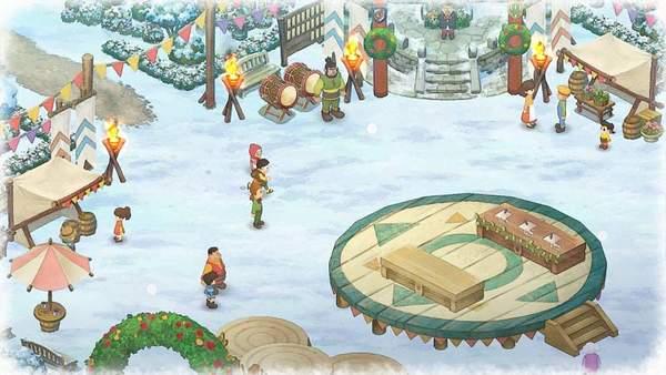 《哆啦A梦:大雄的牧场物语》新截图 收割庄稼来赚钱