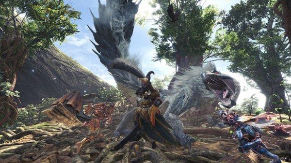 《怪物猎人:世界》推出PS4免费版 存档可继承