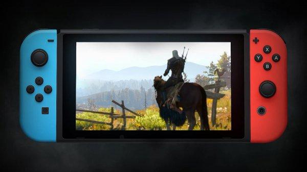 任天堂公布Switch版《巫师3:狂猎》 2019年发售
